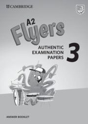 Flyers 3 Answer Booklet (New format)