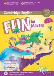 Fun for 4Ed Movers SB + Onl Activ+Audio + Home Fun Booklet
