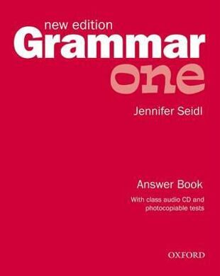 GRAMMAR 1 NEW ANS.B+CD PACK  распродажа  OP!