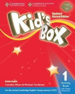 Kid's Box UPD 2Ed 1 AB  + Online Res