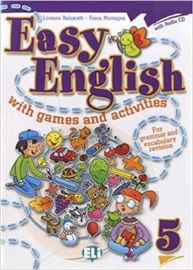 EASY ENGLISH with games and activities 5+CD