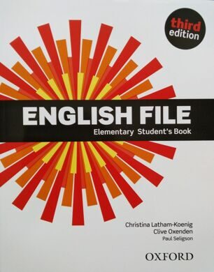 ENGLISH FILE ELEM 3E SB