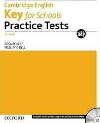 CAMB ENG KEY FOR SCHOOLS PRACTICE TESTS W/KEY+CD PACK OP!