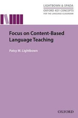 FOCUS ON CONTENT BASED LANGUAGE TEACHING