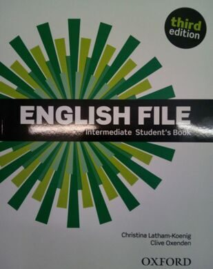 ENGLISH FILE INT 3E SB