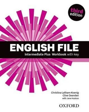 ENGLISH FILE INT PLUS 3E WB W/K