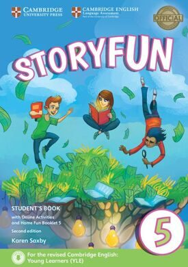 Storyfun 5 SB 2Ed + Online Activities and Home Fun Booklet