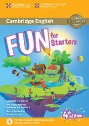 Fun for 4Ed Starters SB + Onl Activ + Audio + Home Fun Booklet