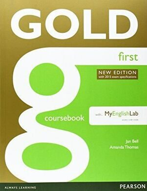 Gold First New Ed CB+FCE MEL
