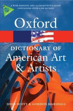 OPR:OXF DICT OF AM ART & ARTISTS PB (2008)