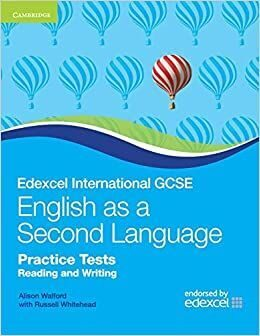 IGCSE: English as a 2nd Lang.Edexcel Pr.Tests,Read&Writ.*