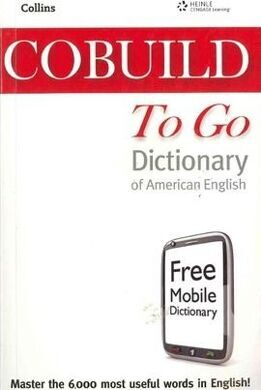 COBUILD To Go Dict [with Mobile App] AmE #