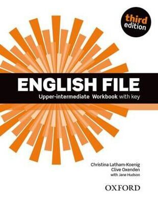 ENGLISH FILE UP-INT 3E WB W/K