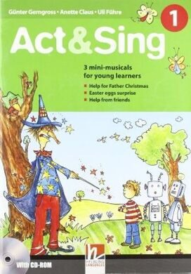 Act & Sing 1 [with CD(x1)]